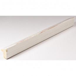 SCO601/476 15x20 - mała skośna biała z czerwoną przecierką ramka do zdjęć i obrazków sample