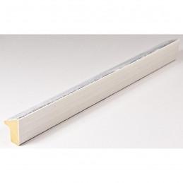 SCO601/478 15x20 - mała skośna biała z szarą przecierką ramka do zdjęć i obrazków sample