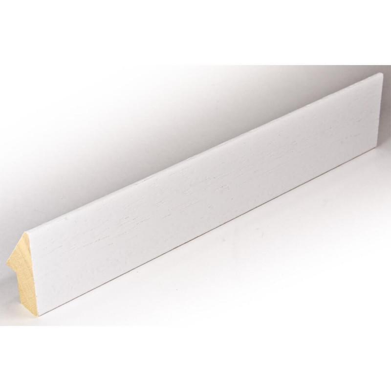INK1112.380 20x40 - mała skośna biała ramka do zdjęć i obrazków