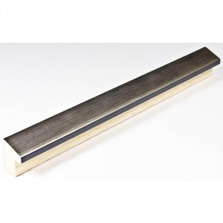 SCO601/291 15x20 - mała skośna stalowa ramka do obrazków