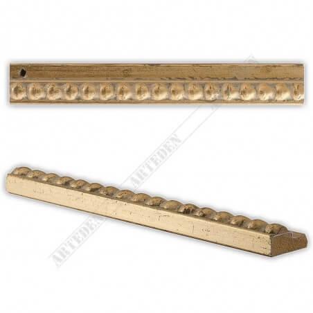 Slip ramiarski złote kulki PLA12B/ORO