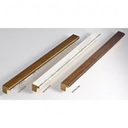 SCOM15/83 15x14 - mała biały kornik - srebrny pas ramka do zdjęć i obrazków sample