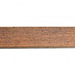 SCOM45/80 43x14 - drewniana brązowy kornik rama do obrazów i luster sample1