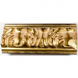PLA4100/ORO 86x49 - szeroka złota rama do obrazów i luster z góry 1