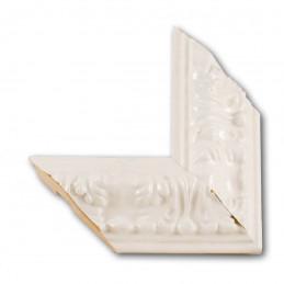 PLA4100/LB 86x49 - szeroka restyle biała połysk rama do obrazów i luster