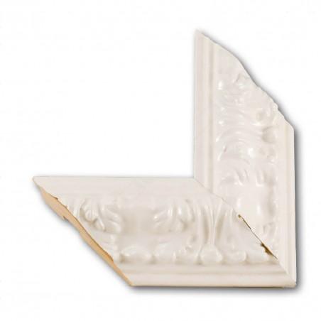 ASO275.63.048 89x44 - szeroka biała rama połysk do obrazów i luster
