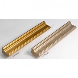 IAF030-01 35x22 - drewniana złota rama do obrazów i luster sample