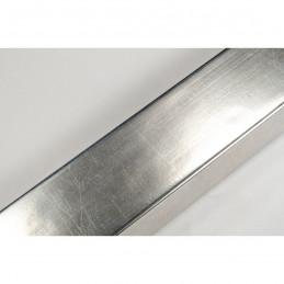 SCO331/101 35x14 - srebrna laminowana rama do obrazów
