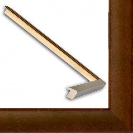 ASO127.31.067 14x15 - mała autore brązowa ramka do zdjęć i obrazków