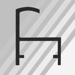 ALUS3 - rama aluminiowa srebrna anoda standard