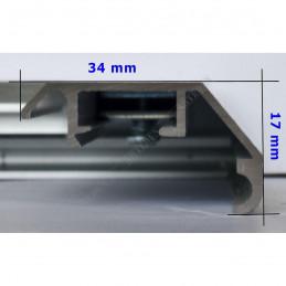 ALUS9 - szeroka rama aluminiowa - wymiary