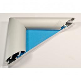 ALUZ7 - szeroka rama aluminiowa owalna - przekrój