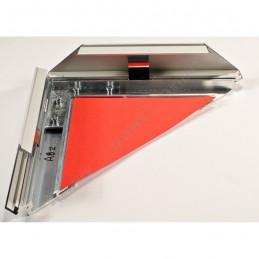 ALUZ8 - szeroka rama aluminiowa z otwartymi zatrzaskami