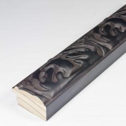 INK5334.072 40x25 - rzeźbiona czarna matowa rama do obrazów