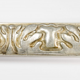 INK5334.602 40x25 - rzeźbiona ciemno srebrna rama do obrazów rzut z góry