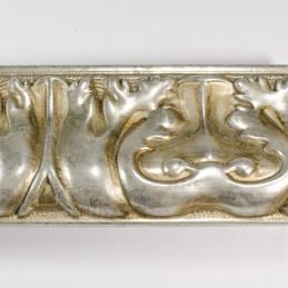 INK5337.602 70x40 - rzeźbiona ciemno srebrna rama do obrazów od góry