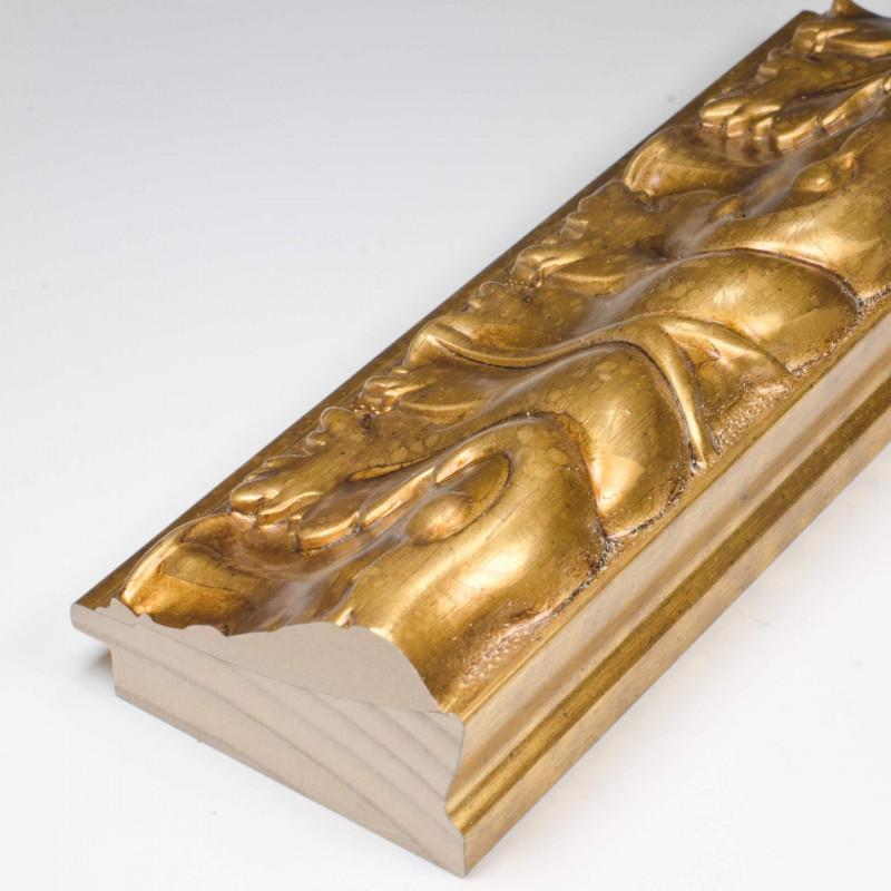 INK5337.702 70x40 - rzeźbiona złota rama dukatowa do obrazów