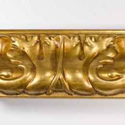 INK5337.702 70x40 - rzeźbiona złota rama dukatowa do obrazów od góry