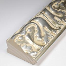 INK5337.650 70x40 - rzeźbiona srebrna rama do obrazów i luster od środka