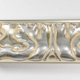 INK5337.650 70x40 - rzeźbiona srebrna rama do obrazów i luster z góry