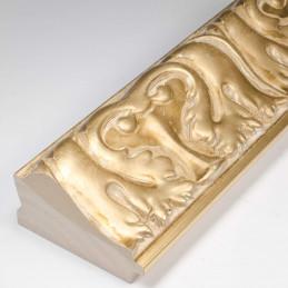 INK5337.750 70x40 - rzeźbiona złota rama do obrazów i luster od środka