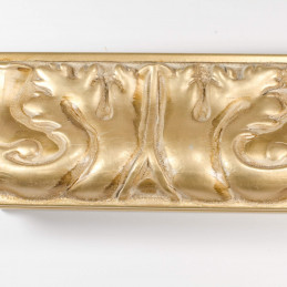 INK5337.750 70x40 - rzeźbiona złota rama do obrazów i luster od góry