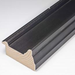 SCO325/74 70x43 - drewniana czarna matowa rama do obrazów