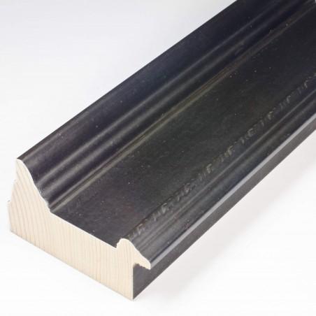 SCO325/74 70x43 - drewniana czarna matowa rama do obrazów od środka