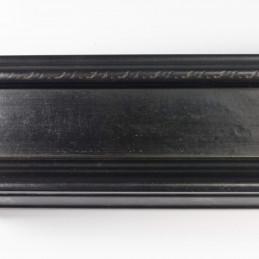 SCO325/74 70x43 - drewniana czarna matowa rama do obrazów od góry
