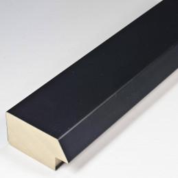 SCO818/31 50x25 - drewniana czarna matowa rama do obrazów i luster od środka