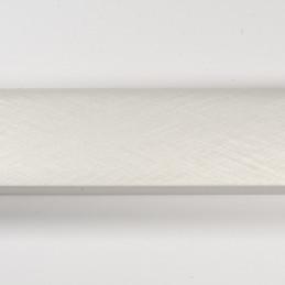 SCO492/215 32x20 - laminowana biała drapana rama perłowa do obrazów od góry