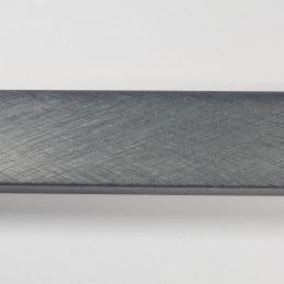 SCO492/214 32x20 - laminowana grafitowa drapana rama do obrazów od góry