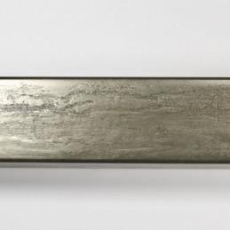 SCO331/105 35x22 - kamień metalizowany postarzana grafitowa rama do obrazów od góry