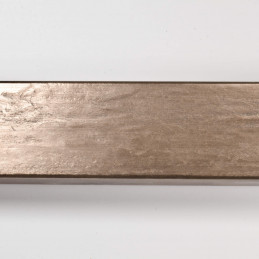 SCO331/106 35x22 - kamień metalizowany mosiądz rama do obrazów od góry