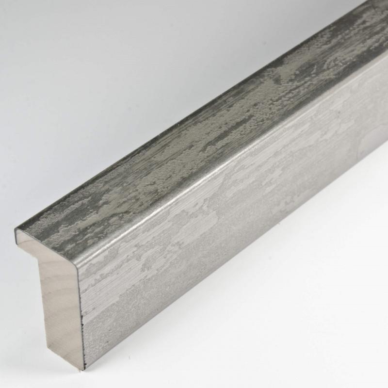 SCO330/104 20x32 - kamień metalizowany postarzana srebrna rama do obrazów