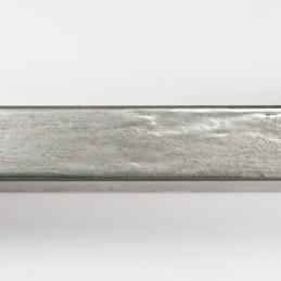 SCO330/104 20x32 - kamień metalizowany postarzana srebrna rama do obrazów od góry