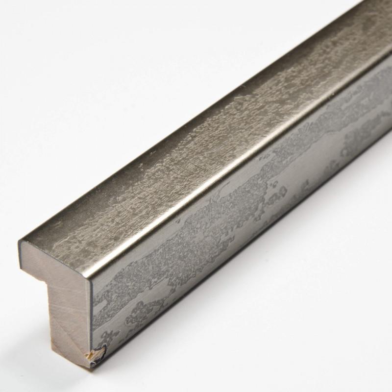 SCO330/105 20x32 - kamień metalizowany postarzana grafitowa rama do obrazów