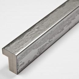 SCO332/104 15x20 - kamień metalizowany postarzana srebrna rama do obrazów