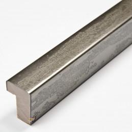 SCO332/105 15x20 - kamień metalizowany postarzana grafitowa rama do obrazów