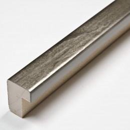 SCO332/105 15x20 - kamień metalizowany postarzana grafitowa rama do obrazów od środka