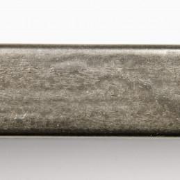 SCO332/105 15x20 - kamień metalizowany postarzana grafitowa rama do obrazów od góry