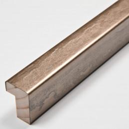 SCO332/106 15x20 - kamień metalizowany mosiądz rama do obrazów