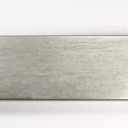 SCO333/104 62x21 - kamień metalizowany postarzana srebrna rama do obrazów od góry