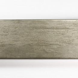 SCO333/105 62x21 - kamień metalizowany postarzana grafitowa rama do obrazów od góry