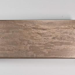 SCO333/106 62x21 - kamień metalizowany postarzany mosiądz rama do obrazów od góry
