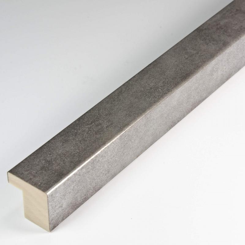 SCO6008/221 20x20 - mała srebrna ramka postarzana do zdjęć