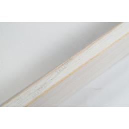 SCO808/239 20x35 - biała rama ze skosem do zdjęć i obrazków od góry