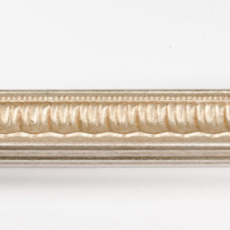 SCO760/10 30x25 - srebrna ramka dekor  do zdjęć i obrazów od góry