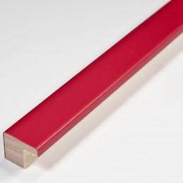 SCO2010/762 15x12 - mała czerwona ramka do zdjęć i obrazków od środka