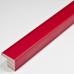 SCO2010/762 15x12 - mała czerwona ramka do zdjęć i obrazków